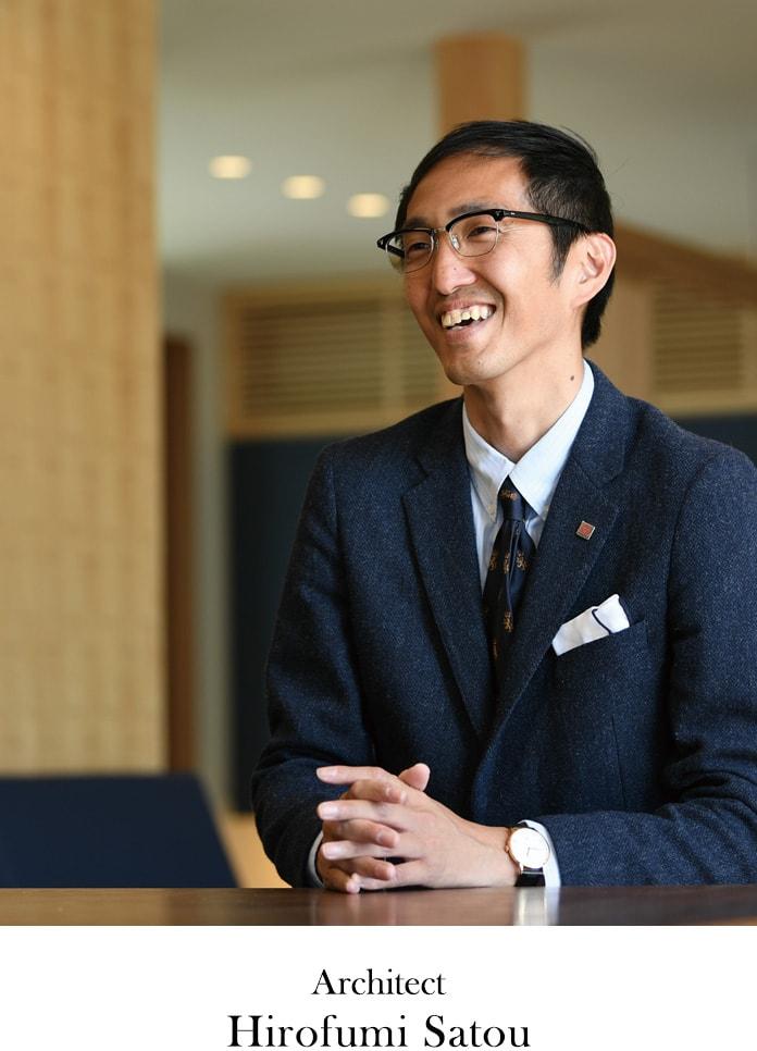 Architect Hirofumi Satou